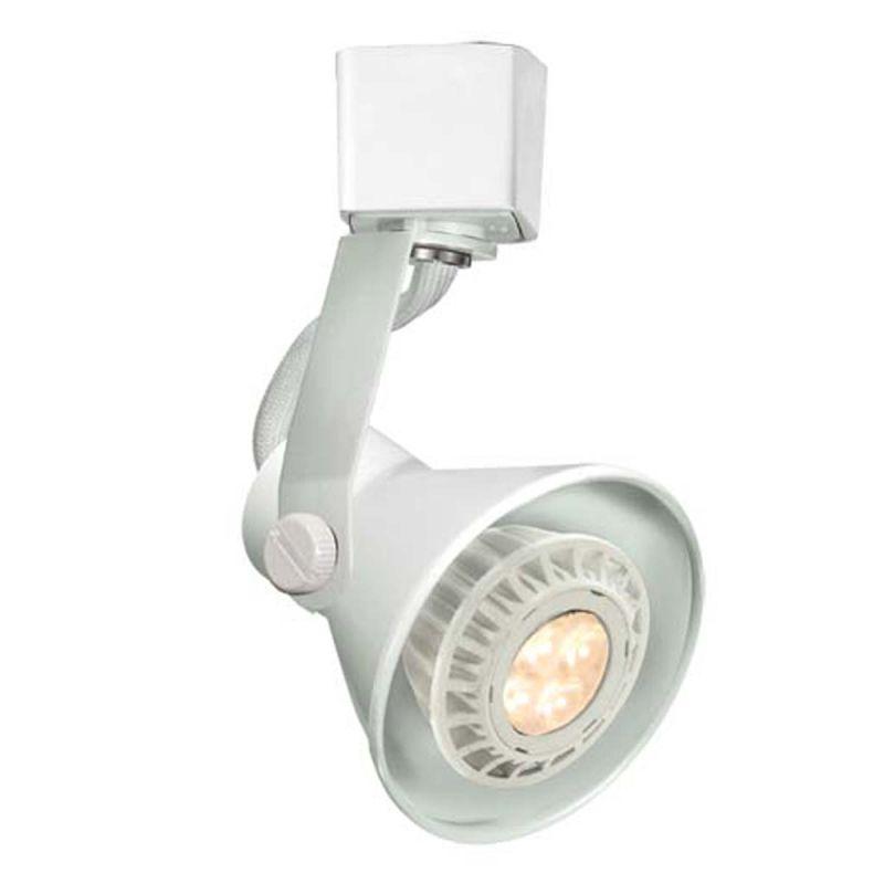 "Wac Lighting H Track: WAC Lighting HTK-103LED-WT White Line Voltage 2.625"" Wide"