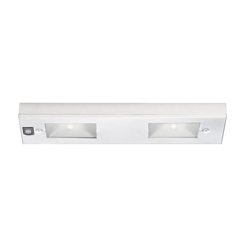wac lighting ba lix 2 wt white 12 length 2 light line voltage under. Black Bedroom Furniture Sets. Home Design Ideas