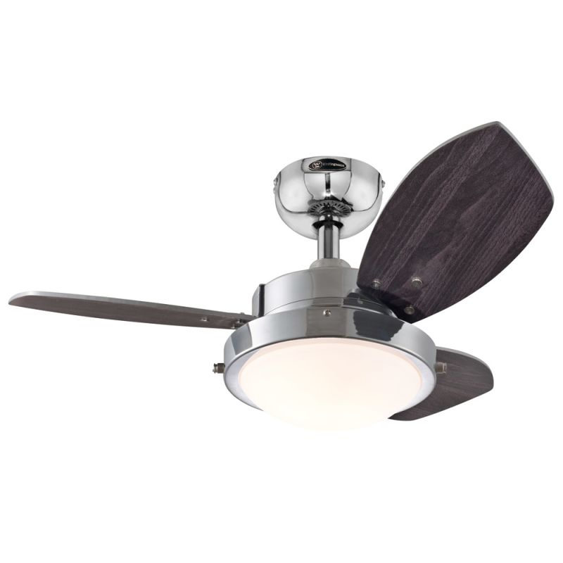 ceiling fan with reversible motor blades light kit and down rod. Black Bedroom Furniture Sets. Home Design Ideas