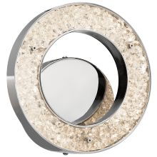 Elan Crushed Ice Round Sconce - Warm White
