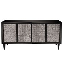 Howard Elliott Glossy Cabinet with Tile Front