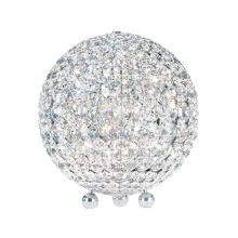 "8"" Wide 6 Light Table Lamp With Crystal Shade From The Da Vinci Collection"