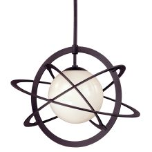 "Cosmos 1 Light 21.25"" High Large Pendant"