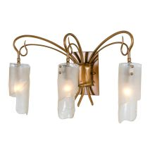 Three Light Bathroom Vanity Fixture from the Soho Collection