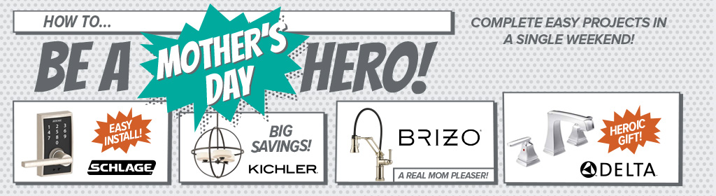 how to be a mother's day hero - complete easy projects in a single weekend