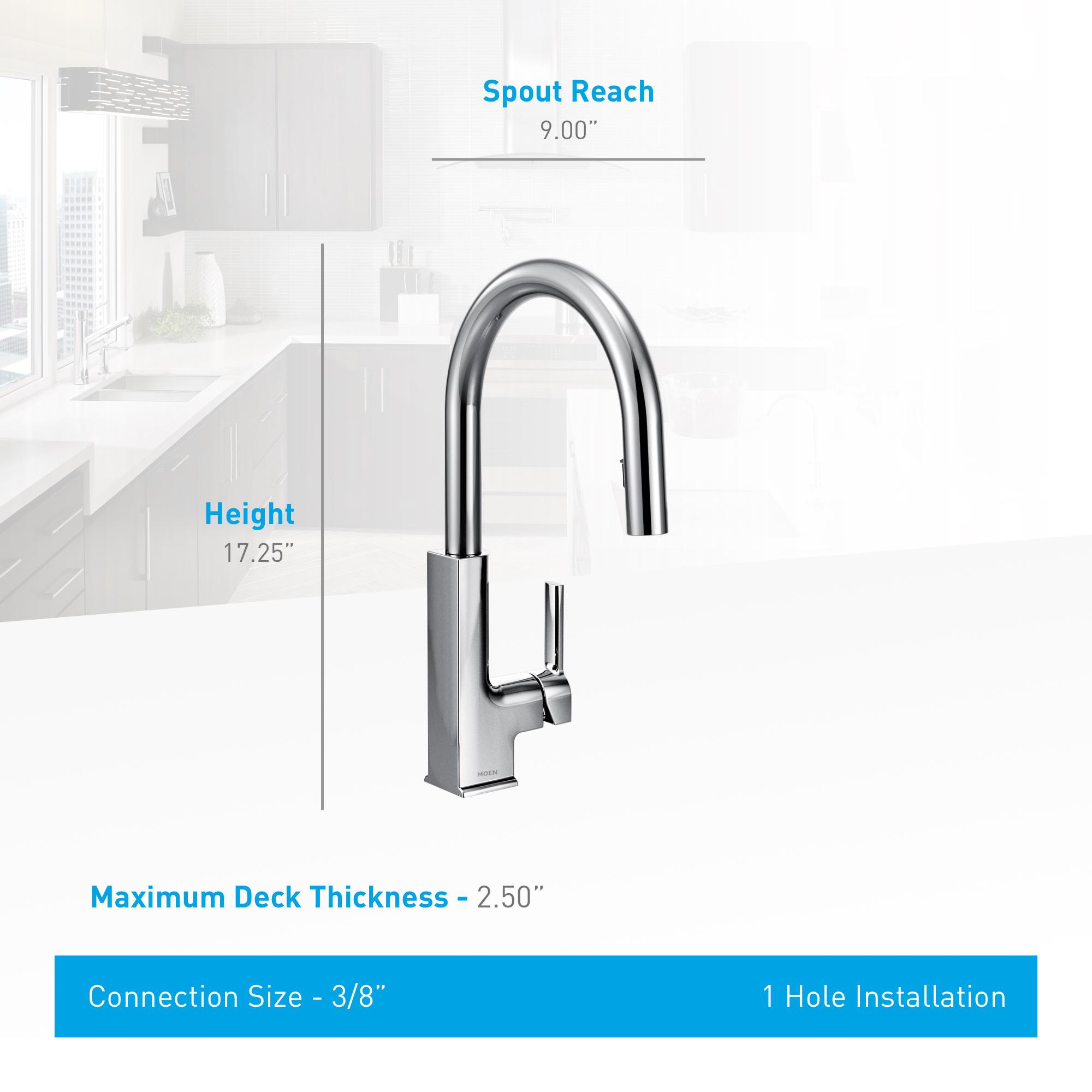 Moen S72308 Kitchen Faucet Build Com