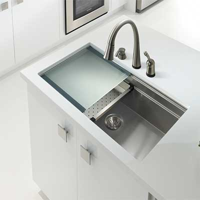 Shop all Houzer Sinks and Accessories