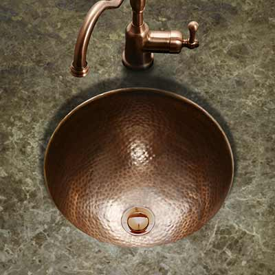 Hand Hammered Copper Sinks