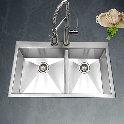 Double Basin Kitchen Sinks