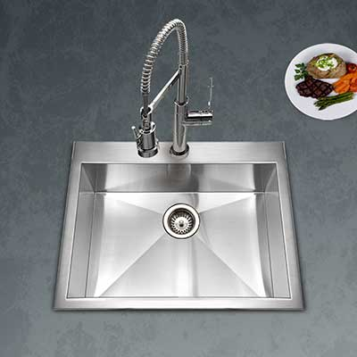 Single Basin Kitchen Sinks