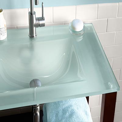 Shop Glass Sinks