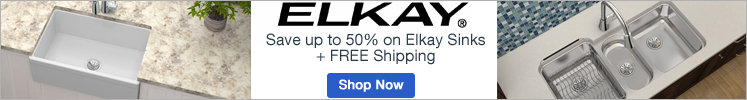 Save up to 50% on Elkay Sinks!