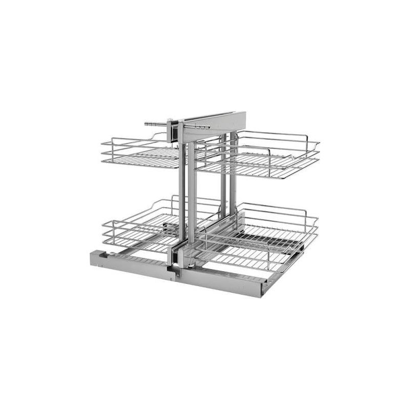 rev a shelf 5psp 15 cr chrome 5psp series 15 inch base. Black Bedroom Furniture Sets. Home Design Ideas