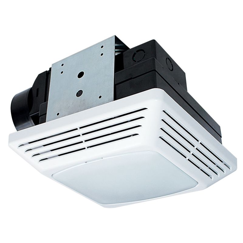 Air king bfqf70 white 70 cfm 2 0 sone energy star rated - Air king bathroom fan light combo ...