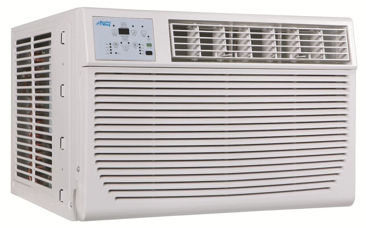 Air Conditioner with 8000 BTU Heater and Remote Control #5A4F48