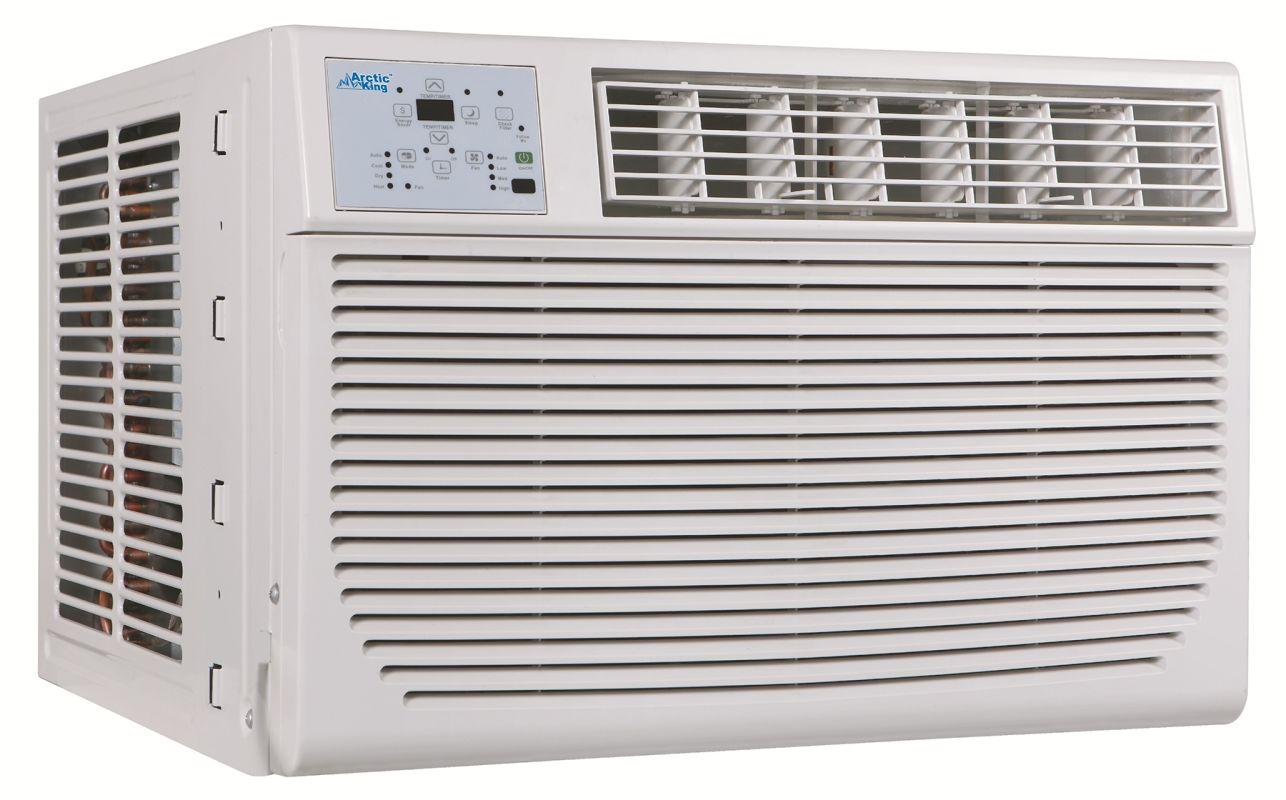 BTU 115 Volt Through the Wall Air Conditioner with 8000 BTU Heater  #5A4F48