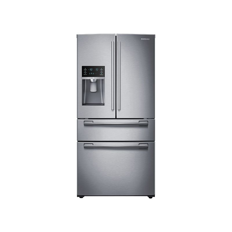 Samsung rf25hmedbbc black 25 cu ft capacity 33 wide 4 for 4 ft wide french doors