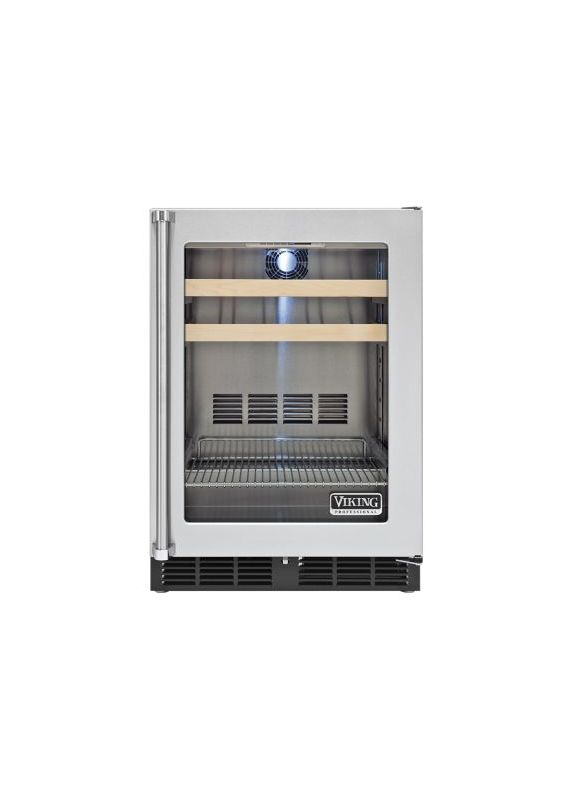 Viking VBCI5240GRSS Stainless Steel 24 Inch Wide 5 3 Cu Ft Undercounter Ref
