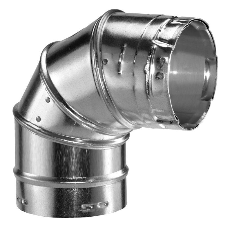 duravent 10gvl90 aluminum 10 inner diameter type b
