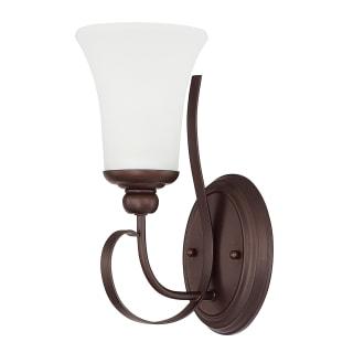 Capital Lighting 614511bz 335 Bronze Griffin Single Light Bathroom Sconce
