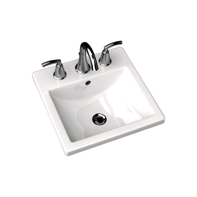 American Standard 0642 008 020 White 642 008 Bathroom Sink