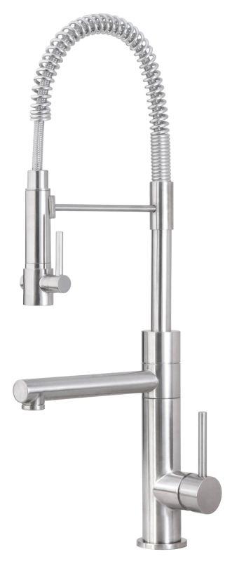 blanco 440557 satin nickel kitchen faucet build com nantucket kf gnpd 1 sn premium kitchen satin nickel