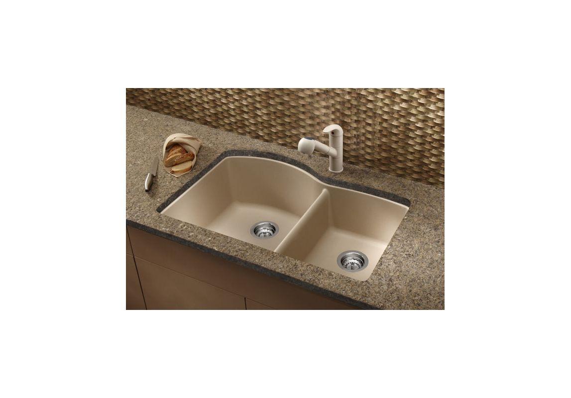 Blanco 440179 anthracite kitchen sink for Silgranit ii sinks