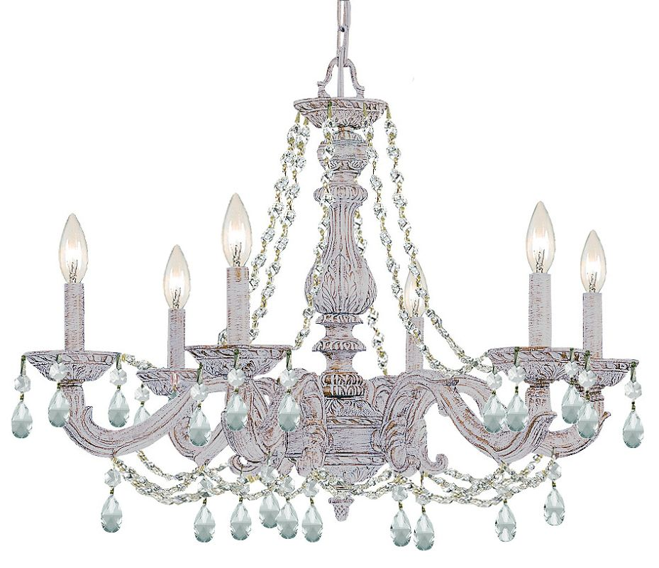 Crystorama Lighting Group 9806 Ch Chrome Chandelier