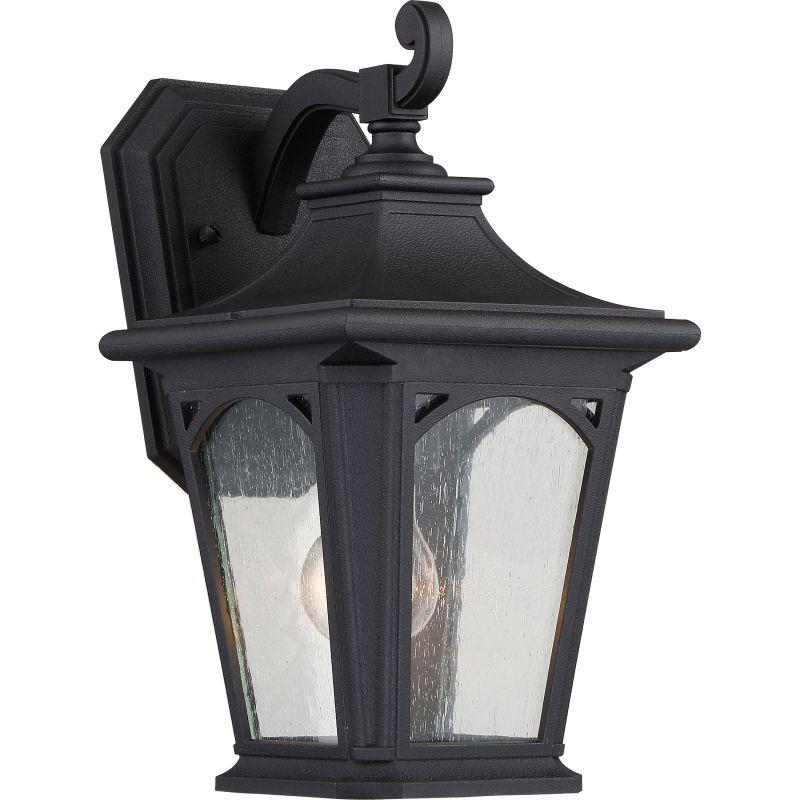 Quoizel Bedford Outdoor Pedestal Light Mystic Black: Quoizel NY8316