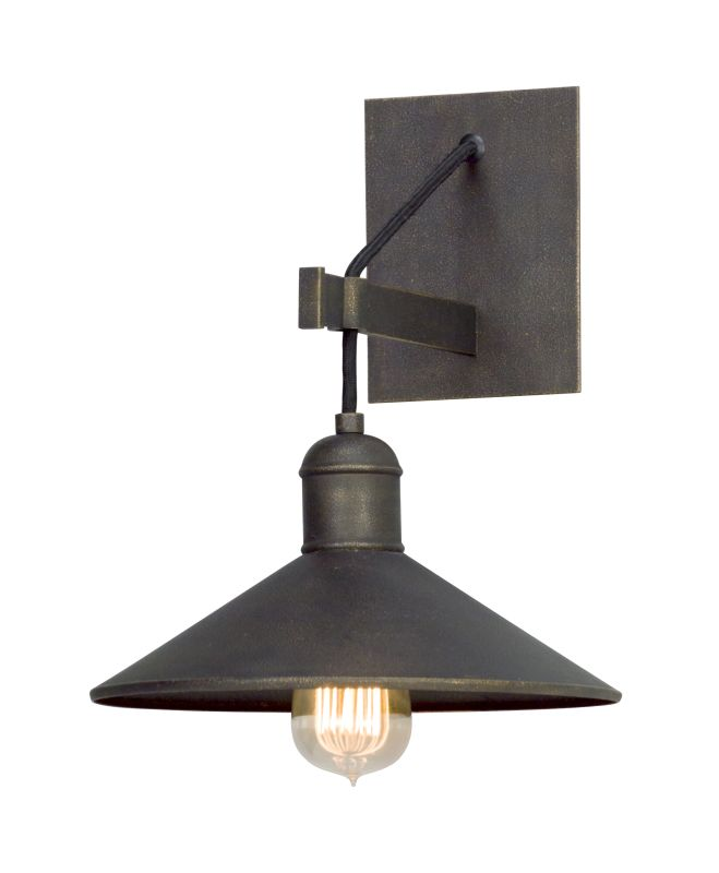 Troy Lighting B2771 Old Silver Wall Light