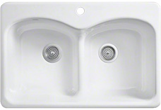 Single hole sinks