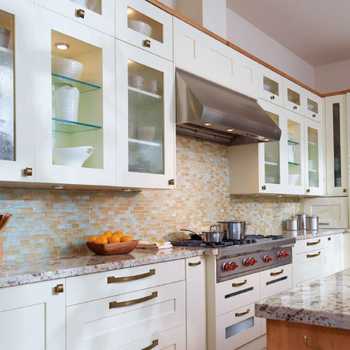 How To Make Glass Kitchen Cabinet Doors: Micro Cabinet Remodel Project