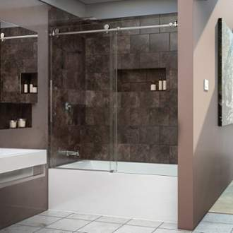 Dreamline Shower Amp Tub Doors Build Com Shop Infinity Glass