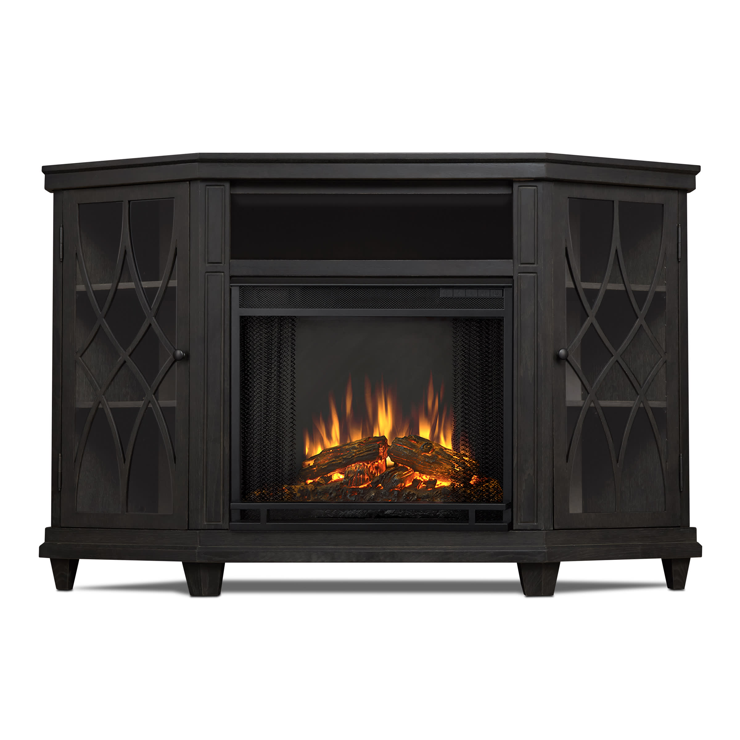 Pleasant Real Flame 1750E Home Remodeling Inspirations Genioncuboardxyz