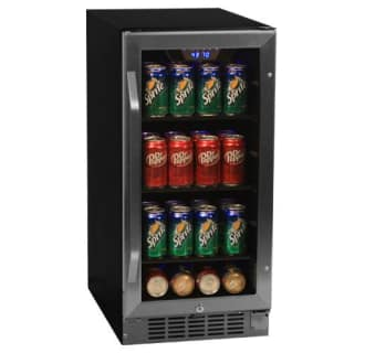 Edgestar 80 can built in beverage cooler cbr901sg publicscrutiny Image collections