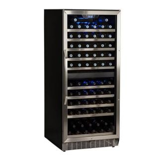 23 Inch Wide 110 Bottle Built-In Wine Cooler with Dual Cooling Zones.  EdgeStar