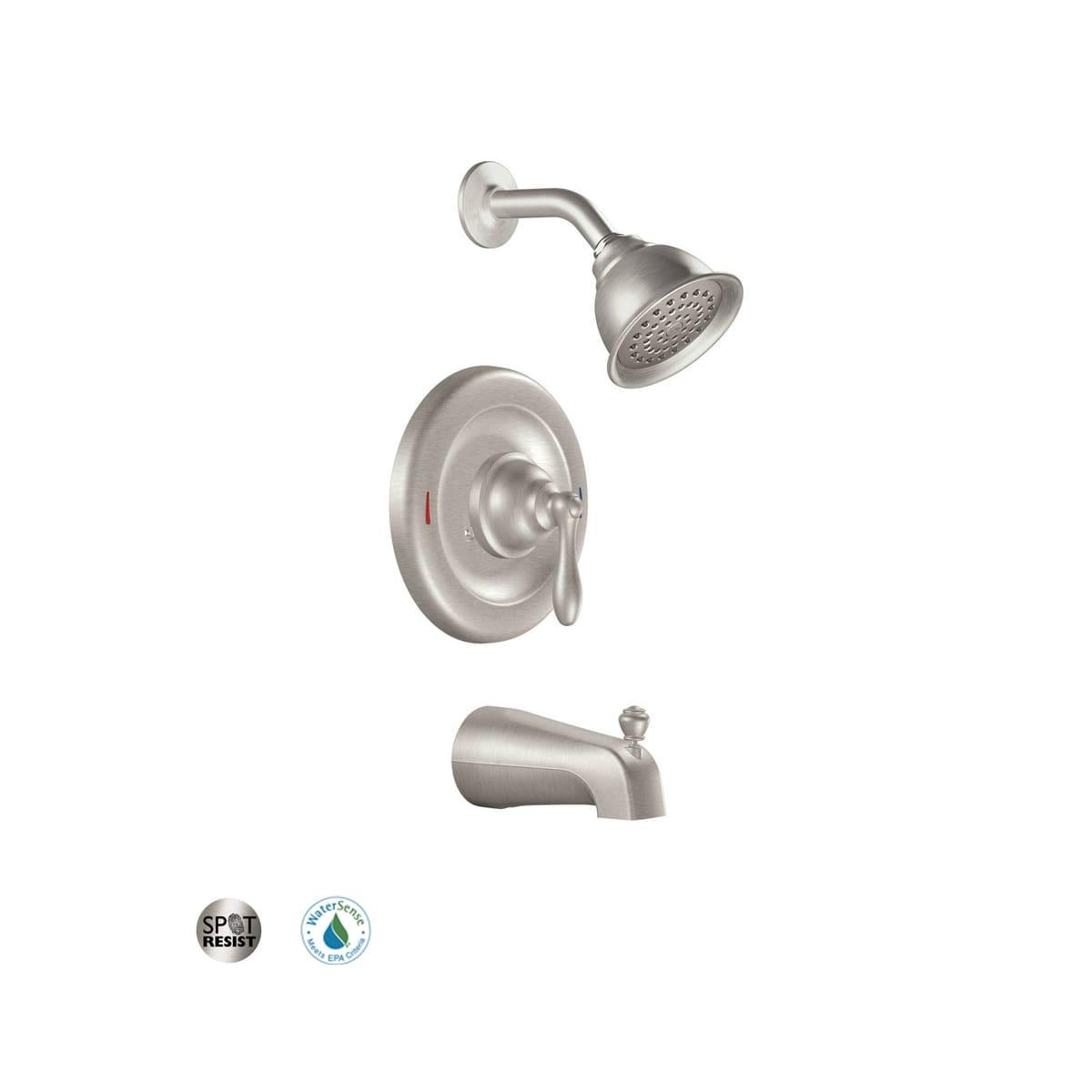 Kitchen Faucets Moen Caldwell Mediterranean Bronze 1 Handle