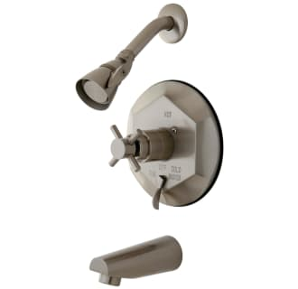 Oil Rubbed Bronze Kingston Brass KB46350DX Concord Tub and Shower Faucet With Diverter