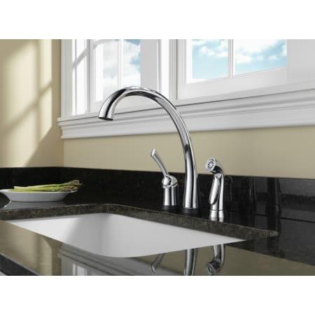 Champagne Bronze Pilar Kitchen Faucet