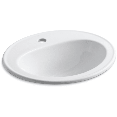 Kohler K 2196 1 0 White Pennington 16 Quot Drop In Bathroom