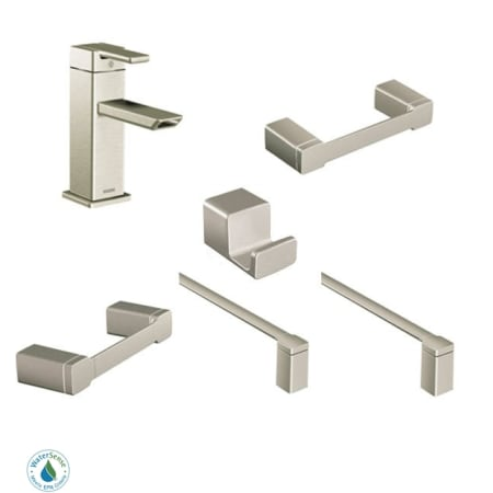 Moen 90 Degree Faucet And Accessory Bundle 3