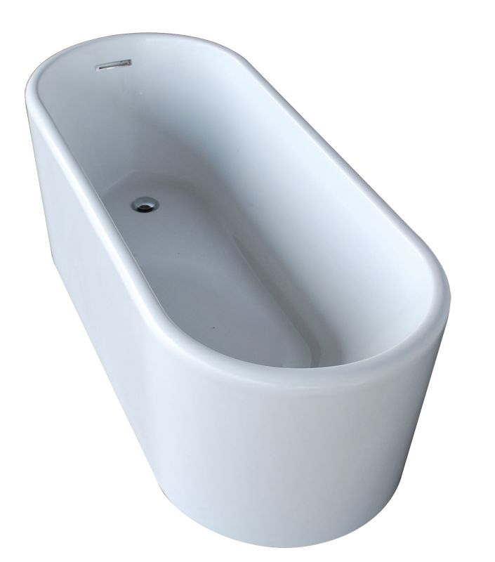 Faucetcom AVENSXCWXX In White By Avano - Drain for freestanding tub