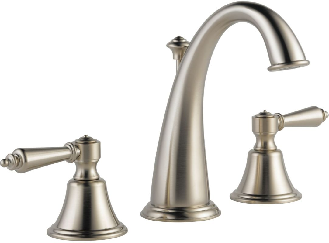 Brizo Bathroom Faucets Faucetcom 6526lf Bnlhp Eco In Brilliance Brushed Nickel By Brizo
