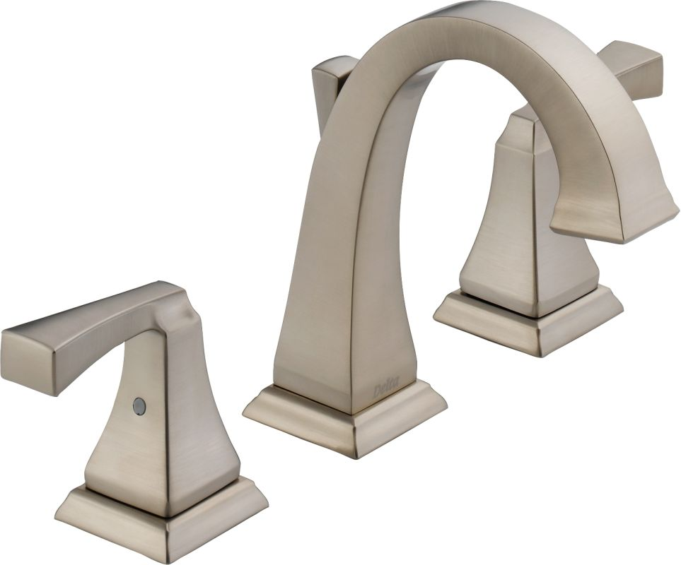 Bathroom Faucets In Gold Tone faucet | 3551lf-pn in brilliance polished nickeldelta