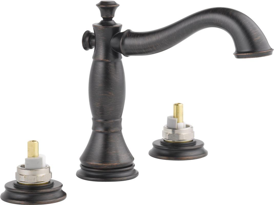 Delta Kitchen Faucets Warranty Faucetcom 3597lf Rbmpu Lhp In Venetian Bronze By Delta