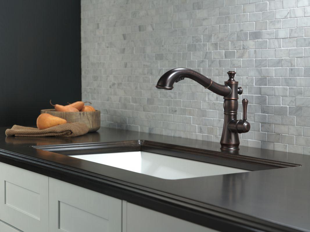 Delta Bronze Kitchen Faucet. 100 Spray Kitchen Faucet Shop Delta ...