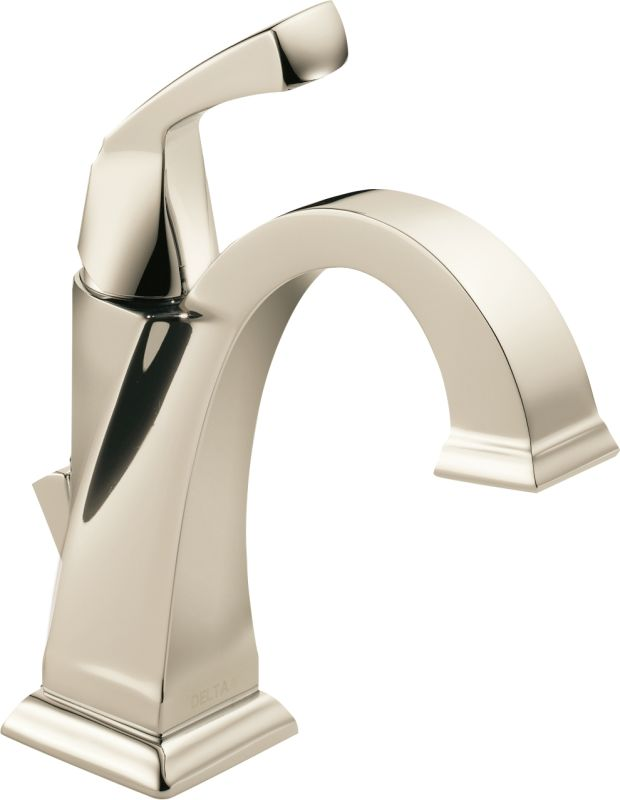 Bathroom Faucet Polished Nickel faucet | 551-pn-dst in brilliance polished nickeldelta