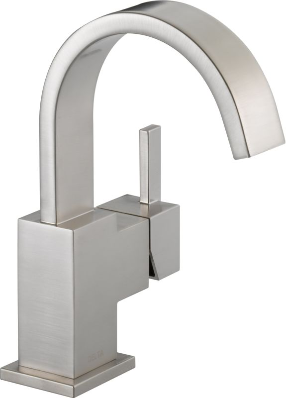 Faucet.com | 553LF-SS in Brilliance Stainless by Delta
