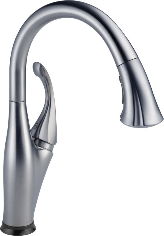 Delta Pull Down Kitchen Faucet faucet | 9192t-ar-dst in arctic stainlessdelta