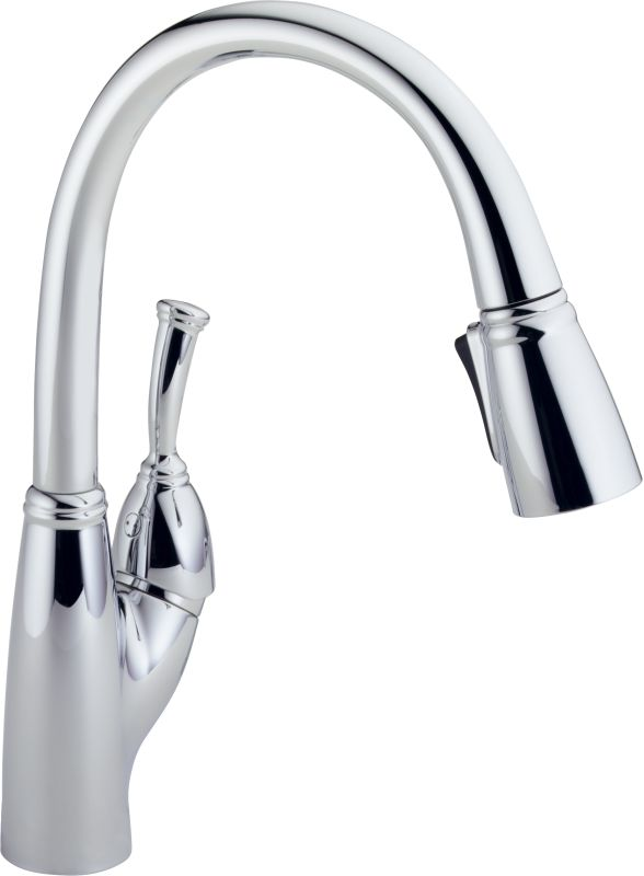 Delta Pull Down Kitchen Faucet faucet | 989-ar-dst in arctic stainlessdelta